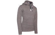 Chillaz Men's Crossneck Hoody brown melange